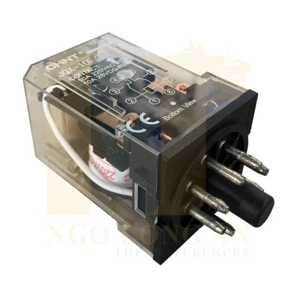 relay trung gian chint jqx-10f