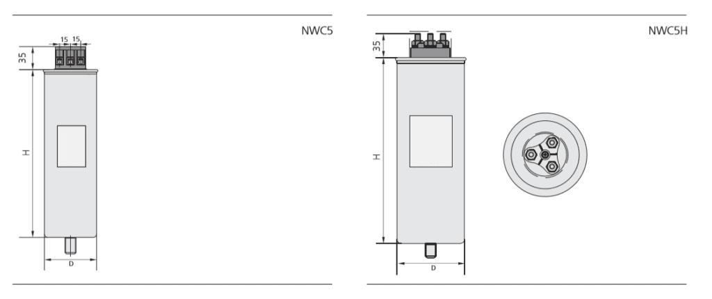 mô tả tụ bù NWC5