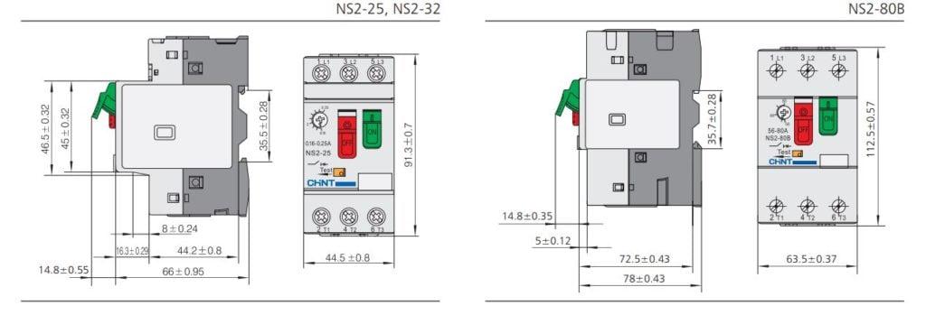 kích thước ns2
