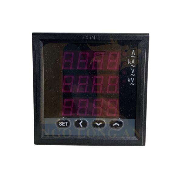 Đồng hồ đo kết hợp điện áp và dòng điện kỹ thuật số PN666-series