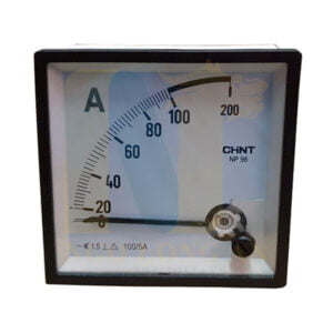 đồng hồ ampe chint np96