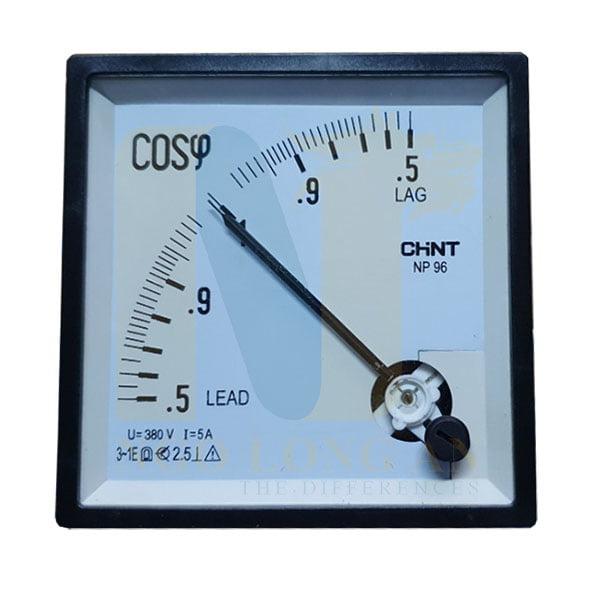 đồng hồ đo cosφ CHINT NP96