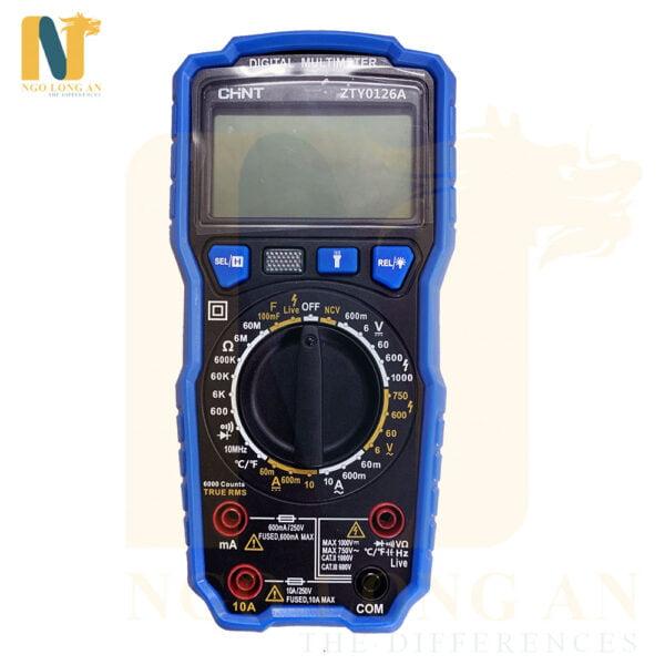 đồng hồ đo kỹ thuật số Chint zty0126A