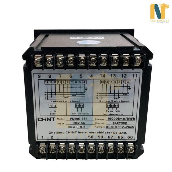 đồng hồ kỹ thuật số chint pd666