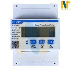 công tơ điện thông minh 3 pha chint dtsu666